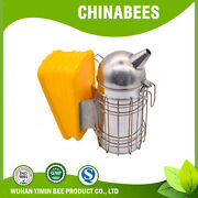 11-inch Bee Hive Smoker Apiculture Equipment Honey Keeper With Heat Shield For