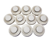 Autronica Bhh-300 Smoke Detector Heat Bhh300 - Lot Of 10 / Fast Shipping