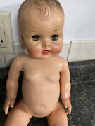Vintage 1950andrsquos Sun Rubber 17 Bannister Baby Drink And039n Wet Vinyl Doll