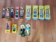 Hazelleand039s Marionette Collection Of 9 Puppets In Original Boxes