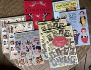 Victorian Collection Pop-out Christmas Ornaments, Decorations, Paper-doll, Books