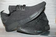 Brand New Friends And Family Adidas Nmd R1 Pitch Black Sz 13 S80489 1/500 Made Fandf