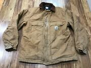 Mens Large Tall - C003 Duck Arctic Lined Traditional Coat Jacket