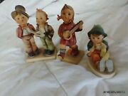 Mj Hummel Global Figurines Tkm 1 And 2 Made In West Germany In The 40s