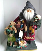 Norma Decamp 1994 Old World Santa Claus House Of Hatten The Christmas Past