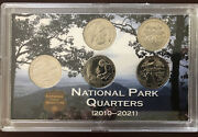 2020 W Privvy75 5-coin Set Of Westpoint Quarters N Commemorative Coin Case
