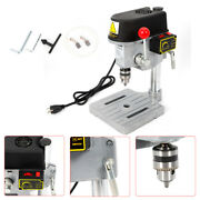 Ce 340w Bench Top 3 Speed Pillar Drill Press And Table Stand 1 - 10mm Clamp Tool