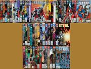 Steel 0 1-52 + Annuals 1 2. Complete 1994 Dc Series. Lois And Clark Tv.