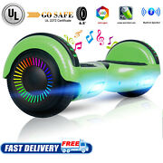 6.5 Led Bluetooth Hoverboard Smart Wheel Electric Self Balancing Scooter No Bag