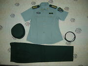 Obsolete 07and039s China Pla Army Woman Officer Summer Short-sleeved Uniformsetf