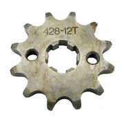 12t Chain Wheel Front 12t Teeth 17mm 428 Chain Front Wheel For Quad Dirt