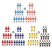 Resin Mini Foosball Men Guys Football Players With Ball Parts Accessory