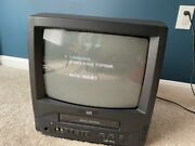 Lxi Series 13 Inch Color Tv Built In Vcr Retro Gaming Tv Model 304.44700000