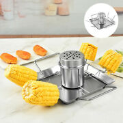 Vertical Beer Can Chicken Roaster Rack Stainless Steel Oven Bbq Grill Gift