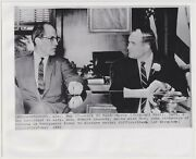 Racial Discussions On Alabama Riots Jfk Justice Dept. Civil Rights 1961 Photo