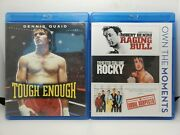 Tough Enough Blu-ray + Raging Bull / Rocky / The Usual Suspects 3x Blu-rays
