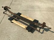 Ford Axle With Round Back Spindles 1930s Hot Rat Rod Parts. Model A T Trog
