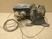 Waterbury Us 133c Power Unit W/ Us Time Corp Motor From Wwii Era Aircraft