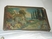 Rare Antique An Old Fashioned Garden, By R. Atkinson Fox