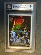 2003-04 Topps Chrome Refractor Carmelo Anthony Psa 9 113 Rc Nuggets Blazers