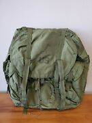 Lc-1 Large Alice Field Pack Backpack W/ Metal Frame Complete Us Military Army