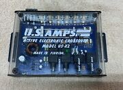 Old School - Us Amps / U.s.amps - Crossover Us-x2 - Hard To Find / Rare