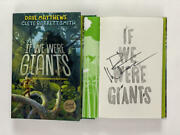 Dave Matthews Band Signed Autograph If We Were Giants Book - Big Whiskey Rare