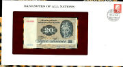 Banknotes Of All Nations Denmark 20 Kroner P-49a.2 1972 1979 Unc A2793c