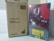 Hot Toys Mms378-d17 Marvel Iron Man Mark Vi 6 Sideshow Exclusive Special Edition