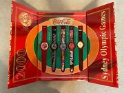 Coca Cola 2000 Sydney Olympic Games Exclusive Swatch Collection Set Of 5 Watch