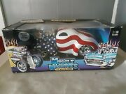 Muscle Machines 41 Willys Coupe 118 Scale American Flag