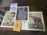 Shepard Fairey - Peace Series Set   Limited Print Set  Sold Out / 2010