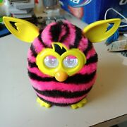 2013 Furby Hasbro Pink And Black Striped Working