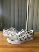 X Peanuts Snoopy Comic Cartoon Shoes Skate Limited Edition Mens 5.5 Women 7