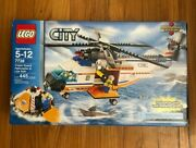 Lego City Coast Guard Helicopter And Life Raft 7738 With Original Manual And Box