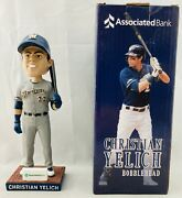 Christian Yelich 2019 Milwaukee Brewers Bobblehead Associated Bank Exclusive