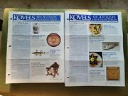 Kovels On Antiques And Collectibles-133 Newsletters 2002-2013 Priority Mail Inc.