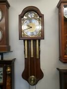 Decor Clocks Weight Drive Westminster Chime Wall Clock