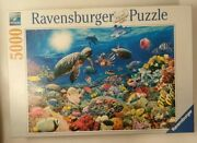 Ravensburger 5000 Piece Jigsaw Puzzle - Underwater Tranquility Ocean Sea Read
