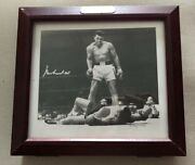 Muhammad Ali Fossil Watch, Limited Edition, Autographed Picture In Boxed Set Nib