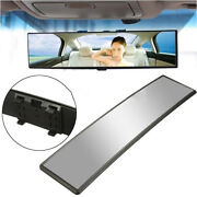 Universal 300mm Wide-angle Convex Interior Clip On Car Truck Rear View Mirror