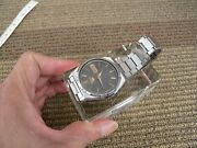 Seiko 5 Automatic Men Watch Running Great And Keep Time. Japan