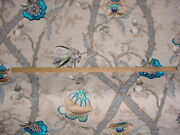 5-1/8y Gp And J Baker Bp10494 Carisbrooke Embroidered Jacobean Upholstery Fabric