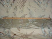 15-1/4 Brunschwig And Fils Bf10007 Bakers Ferns Embroidered Silk Upholstery Fabric