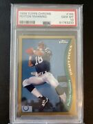1998 Topps Chrome Peyton Manning Psa 10 165 Rookie Newly Graded. Myslabs