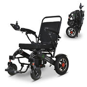Wolf Fold And Travel Electric Wheelchair Power Wheel Chair Lightweight Mobility