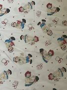 Daisy Kingdom Dr. Raggedy Ann And Nurse Andy Cotton Fabric Large Amount