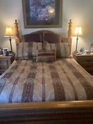 Croscill Dover Manor Dunhill Mulberry Comforter Set 10 Piece