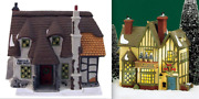 Department 56 Dickensand039 And Heritage Village Collection - 25 Pieces