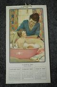 Swiftand039s Premium 1920 Calendar Complete 4 Pgs Haskell Coffin Mcmein Baby Theme